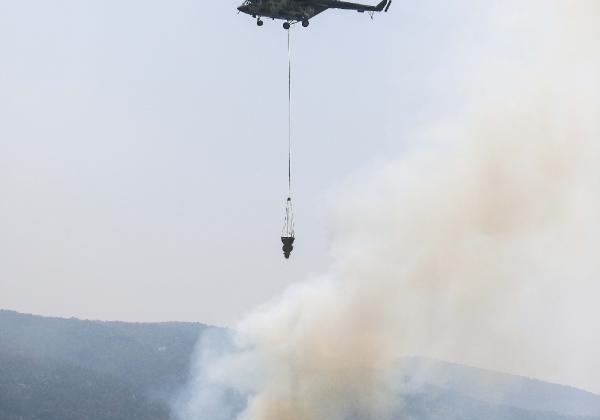 Manavgat'taki büyük yangın 9'uncu gününde (3)