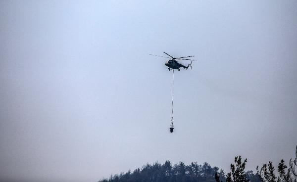 Manavgat'taki büyük yangın 9'uncu gününde/ Ek fotoğraflar