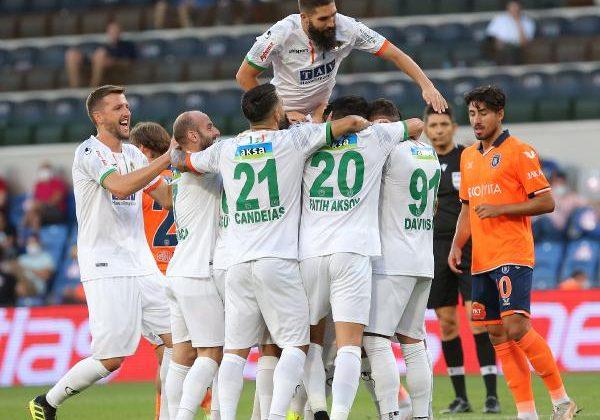 Medipol Başakşehir – Aytemiz Alanyaspor: 0-1