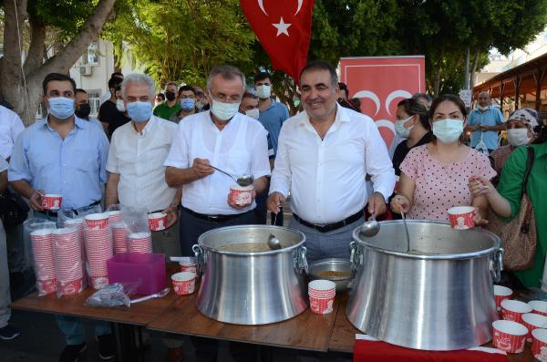 MHP'den Serik'te aşure günü etkinliği