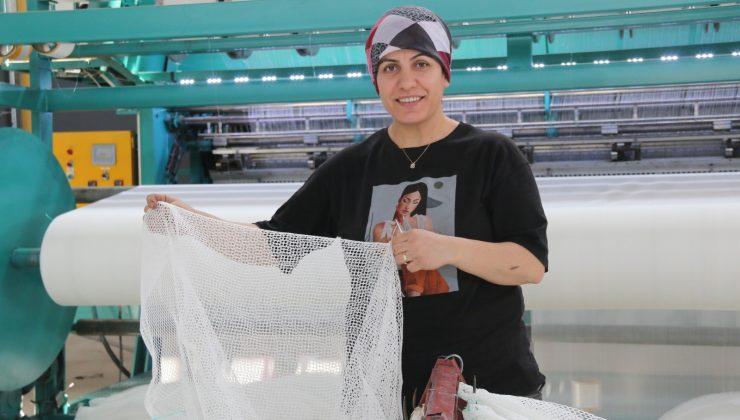 Milyonlarca balon balığını tek seferde yakalayacak özel ağ üretiliyor
