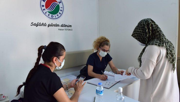 Mobil Aşı Merkezi'nde bin 393 kişi aşılandı