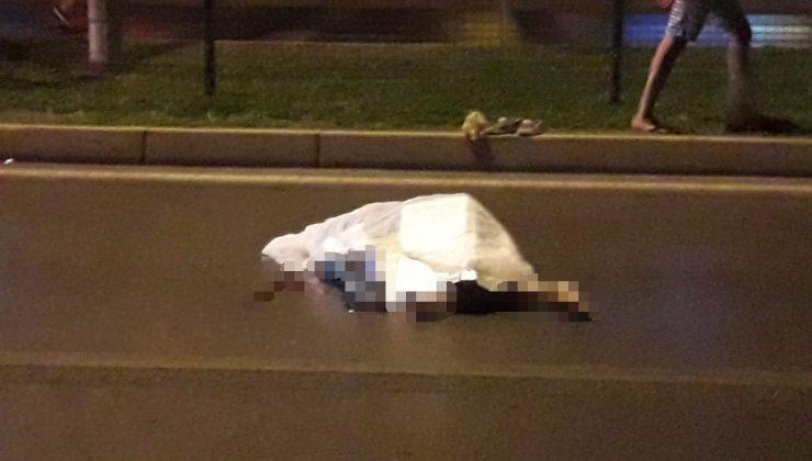 Motosikletin çarptığı Rus turist, olay yerinde yaşamını yitirdi