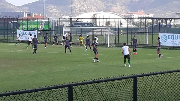 Serik Belediyespor hazırlık maçını 2-0 kazandı