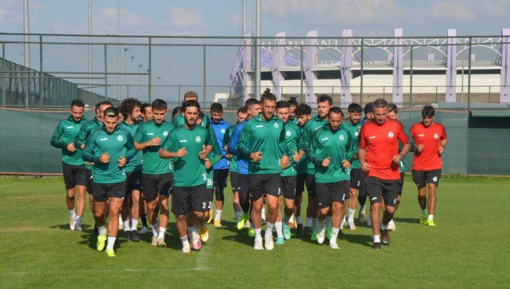 Serik Belediyespor yeni sezon hazırlıklarını sürdürüyor