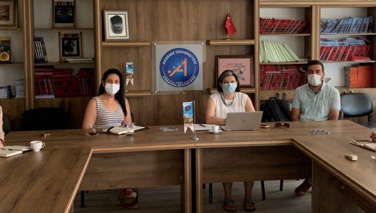Study in Turkey YÖK Sanal Fuarında Akdeniz Üniversitesi'ne yoğun ilgi