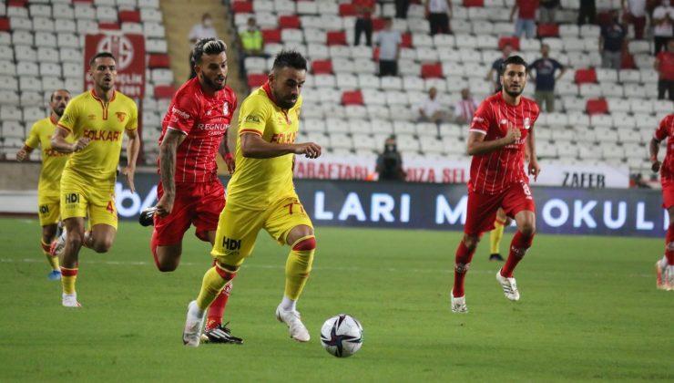 Süper Lig: FT Antalyaspor: 1 – Göztepe: 0 (İlk yarı)