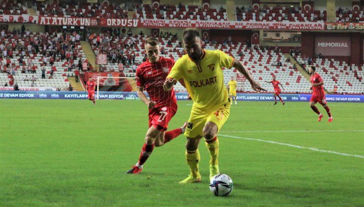 Süper Lig: FT Antalyaspor: 1- Göztepe: 1 (Maç sonucu)
