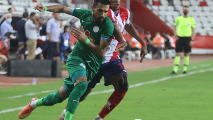 Süper Lig: FT Antalyaspor: 3 – Çaykur Rizespor: 2 (Maç sonucu)