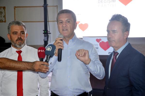TDP Genel Başkanı Sarıgül, Antalya'da