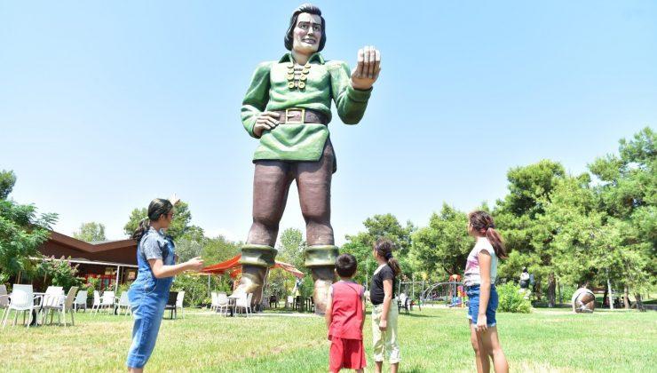 Tek Sarnıç Kent Parkı çocukların gözdesi
