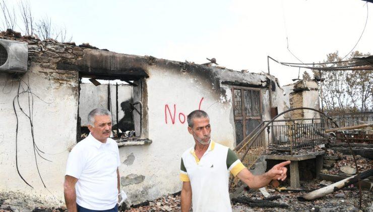 """Vali Yazıcı: """" Devlet olarak vatandaşın yaralarını en kısa sürede saracağız"""""""