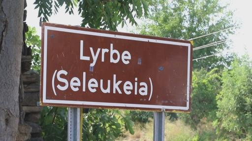 Yangın Lyrbe'yi de vurdu: Antik kent siyaha büründü