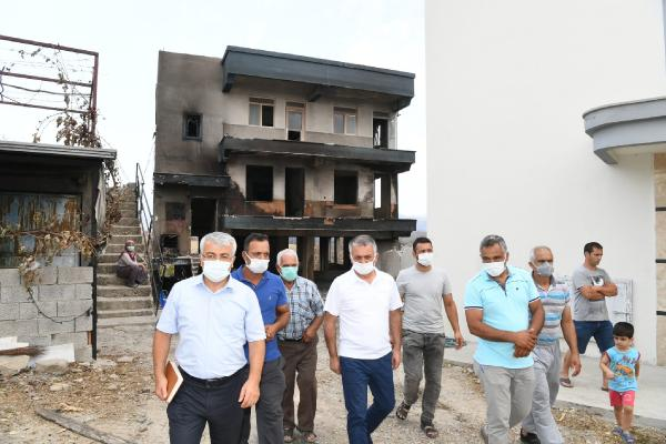 Yangının acı bilançosu: 60 bin hektar kül oldu, en az 1 milyar TL'lik maddi kayıp (5)