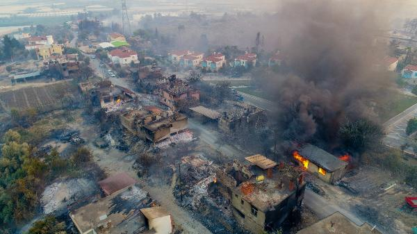 Yangının acı bilançosu: 60 bin hektar kül oldu, en az 1 milyar TL'lik maddi kayıp