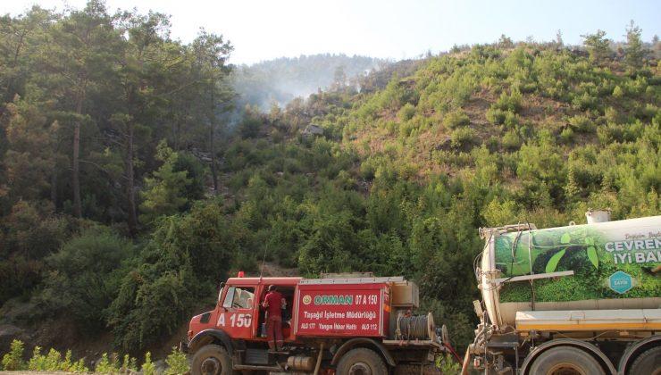 Yangının kontrol altına alındığı Manavgat'ta tedbirler elden bırakılmıyor