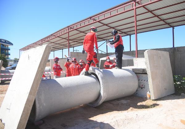 AKUT depremlere Alanya'da hazırlanıyor