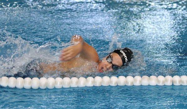 Alanya'da yüzme yarışları yapıldı