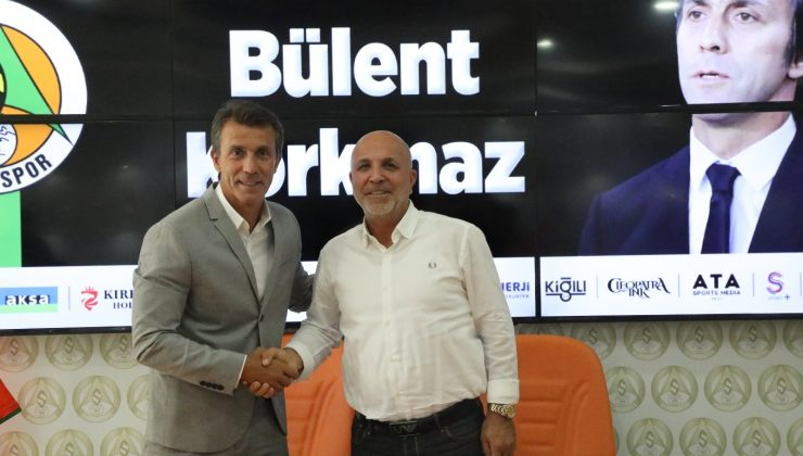 Alanyaspor Bülent Korkmaz ile bir yıllık sözleşme imzaladı
