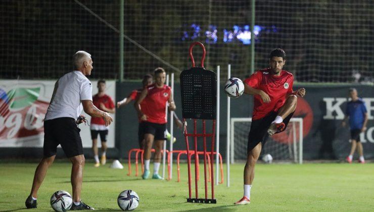 Alanyaspor, Giresunspor maçı hazırlıklarına başladı.