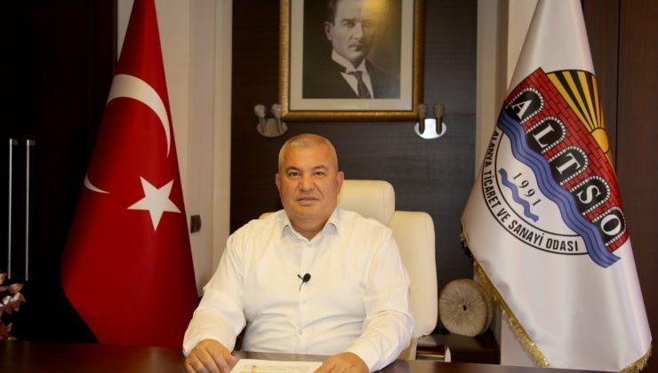 """ALTSO Başkanı Şahin: """"Apart otelin kış döneminde yurt olarak hizmet vermesinin önündeki engel kaldırılmalı"""""""