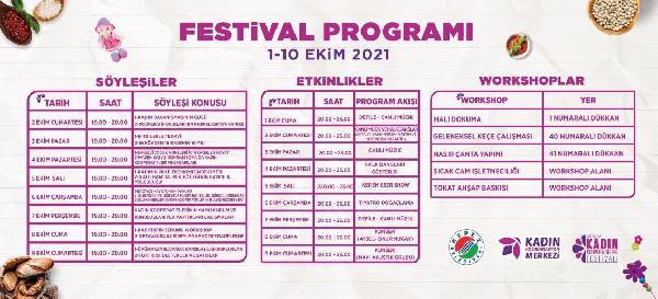 Antalya Kadın Kooperatifleri Festivali başlıyor