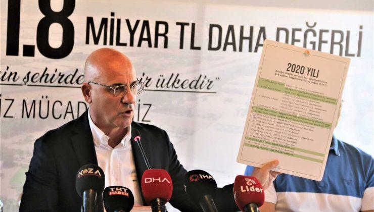Antalya Organize Sanayi Bölgesi'nin metrekaresi çeyrek altın değerinde