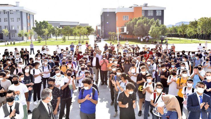 Antalya OSB Teknik Koleji'nde ilk ders zili çaldı