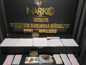Antalya'da 1 ayda 40 uyuşturucu operasyonu