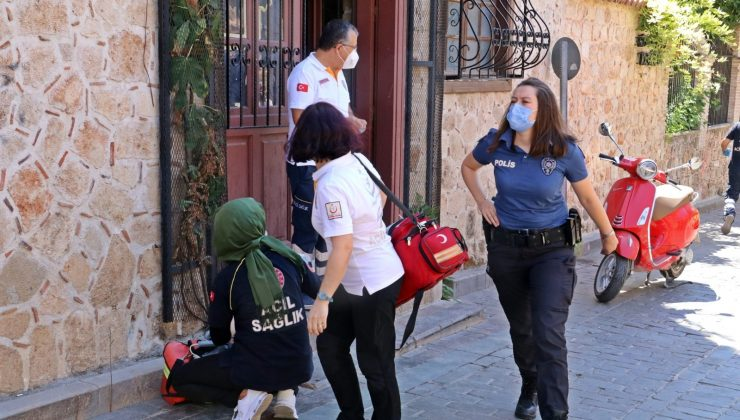 Antalya'da hırsızlık şüphelisinin feci ölümü