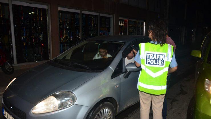 Antalya'da sürücülere yönelik trafik ve alkol denetimi