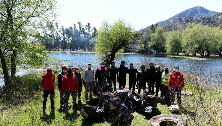 Antalya'nın içme suyu kaynağında sualtı ve çevre temizliği yapılacak