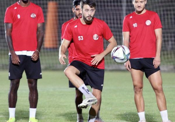 Antalyaspor 'gol' çalıştı