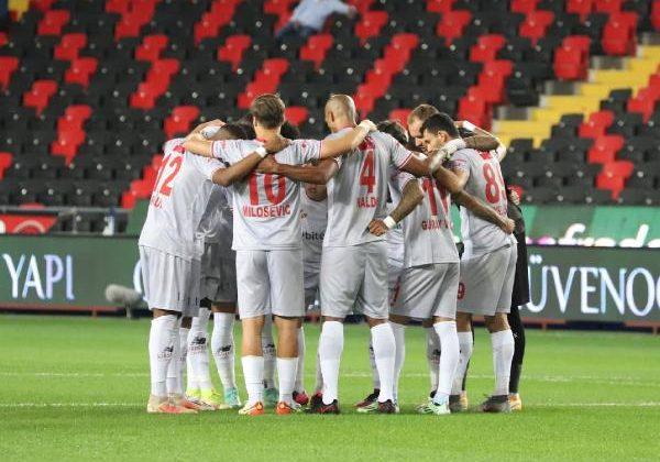 Antalyaspor'da mağlubiyet üzüntüsü