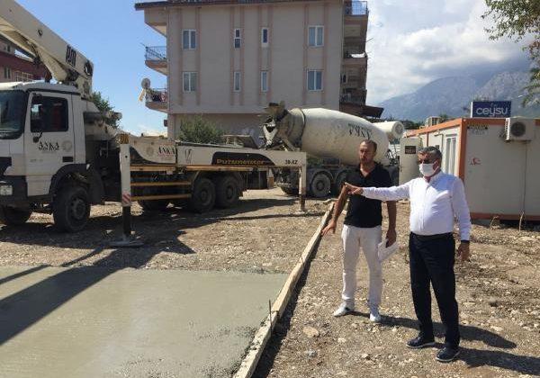 Arslanbucak'ta anaokulunda çalışmalar başladı