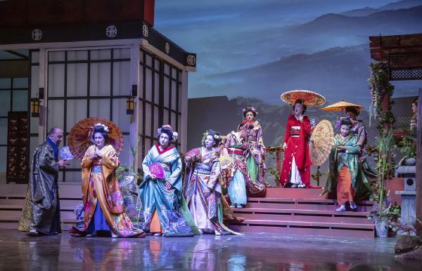 Aspendos Festivali 'Madama Butterfly' ile devam ediyor