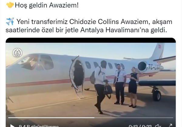 Aytemiz Alanyaspor, Chidozie Awaziem'i kadrosuna kattı