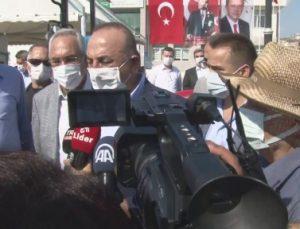 """Bakan Çavuşoğlu: """" Suriye başta olmak üzere mültecilerin evlerine döndürülmesi için çalışmaları başlattık"""""""