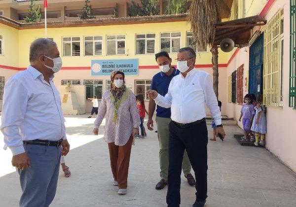 Başkan Topaloğlu okulları ziyaret etti