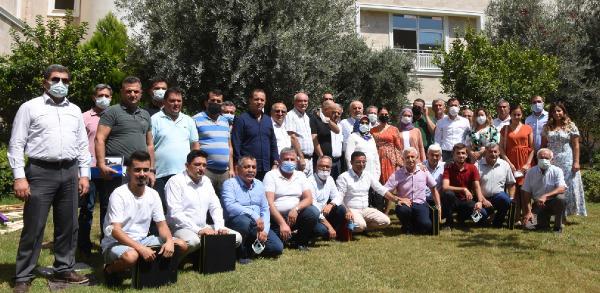 Başkanlar Demre'de tarımın sorunlarını konuştu