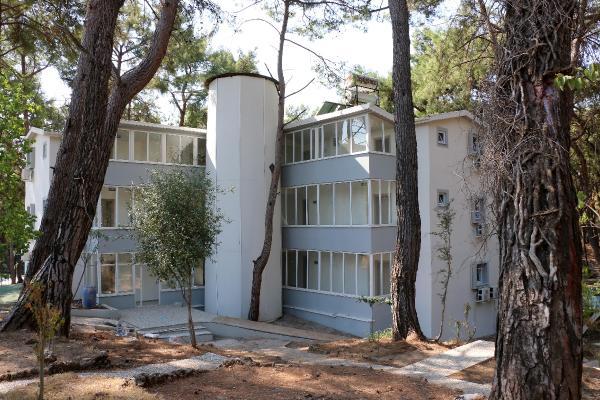 Büyükşehir'in gençlik kampına son rötuşlar