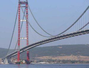 Çanakkale Köprüsü'nün geçiş ücreti 15 euro olacak.