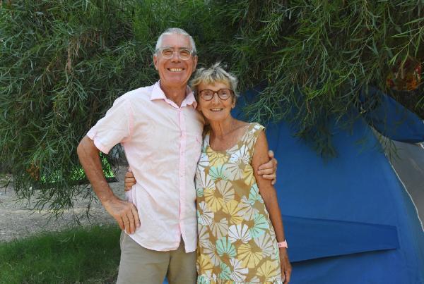 Fransız çift, 34 yıl önce tatil yaptıkları çadırla tekrar tatile geldi