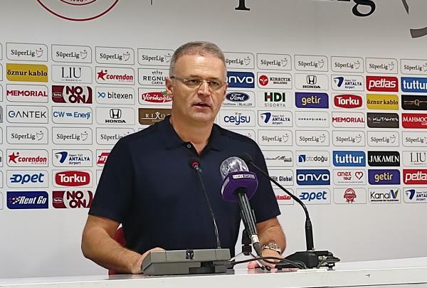 Fraport TAV Antalyaspor – Öznur Kablo Yeni Malatyaspor maçının ardından