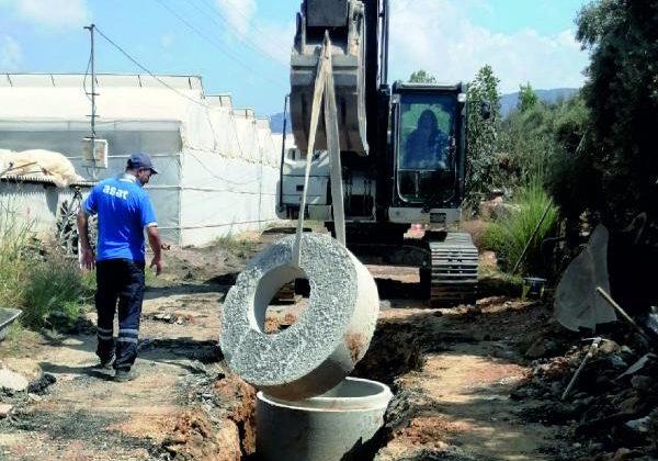 Gazipaşa Beyobası'nın kanalizasyon sorunu çözülüyor