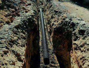 Gazipaşa'da kanalizasyon çalışması