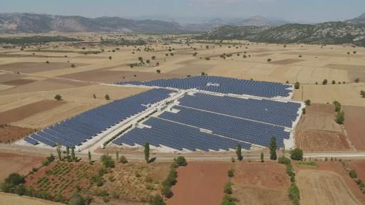 GES ile çiftçinin enerji ihtiyacının yüzde 70'i ücretsiz sağlanıyor