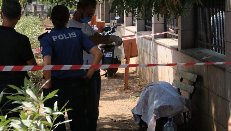 Hastane bahçesinin bankında erkek cesedi bulundu