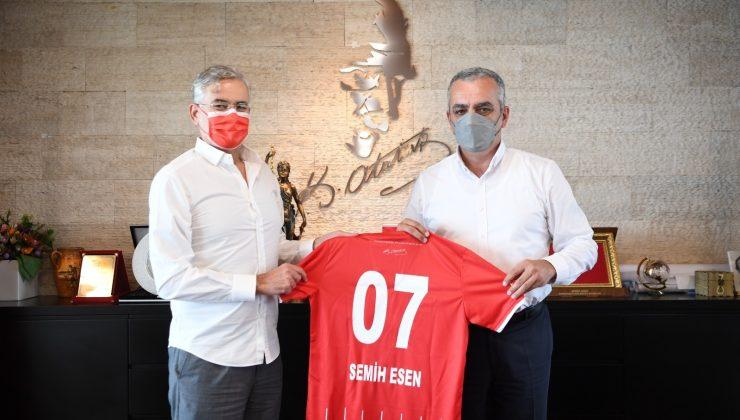 Hesapçıoğlu, Antalyaspor ile ilgili hayata geçirmeyi planladıkları projeleri anlattı.