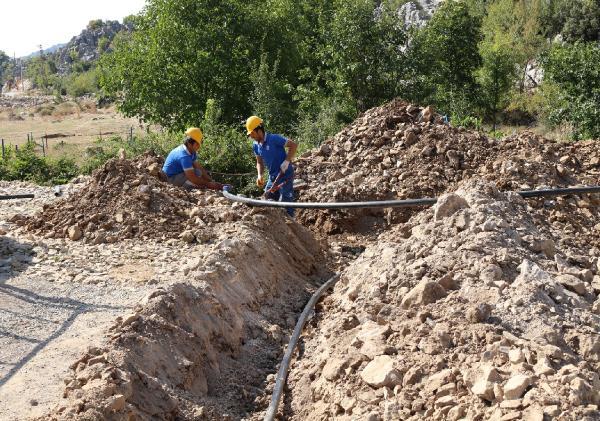 İbradı'da vatandaşın su talebi karşılandı
